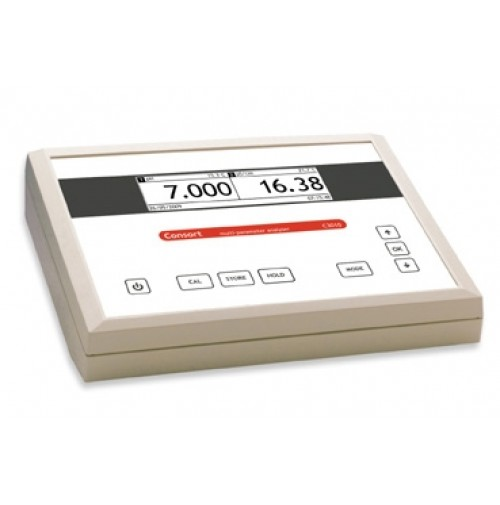 MULTIMETER: pH - mV - Conductivity - Resistivity - Salinity - TDS - Temperature