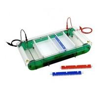 Horizontal Electrophoresis Unit - Temperature controlled using circulating water