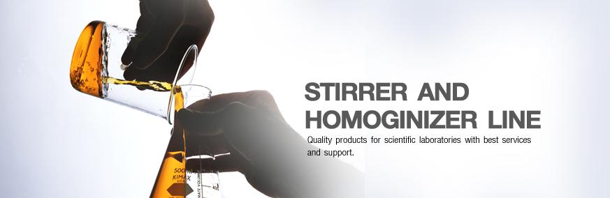 Stirrer and Homoginizer Line